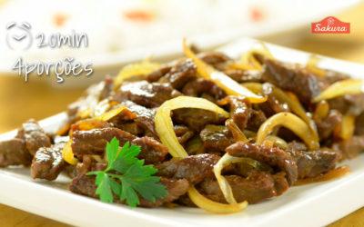 Carne Acebolada – Redução de Sódio